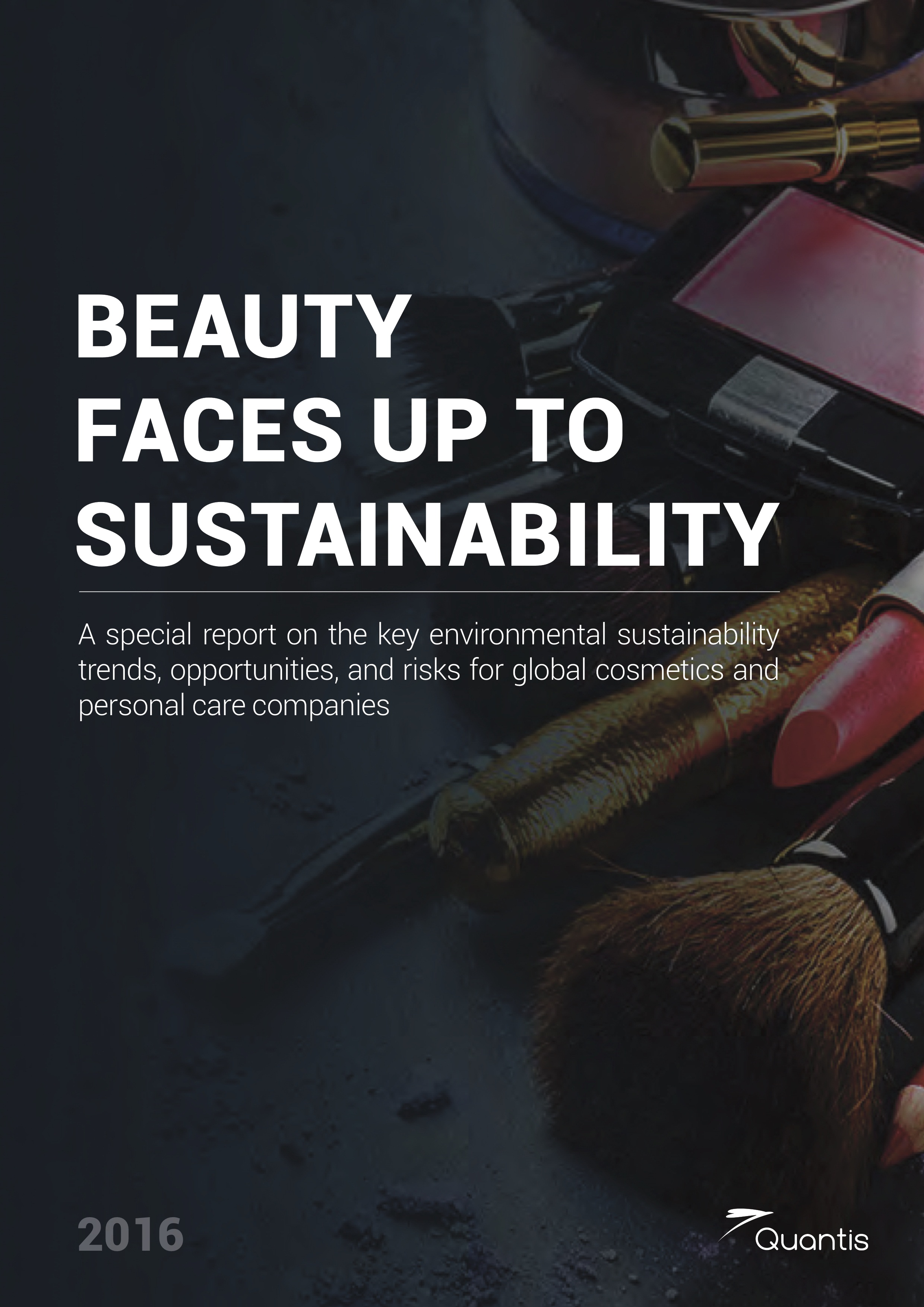 quantis Report released on top sustainability issues and challenges in the cosmetics and personal care industry