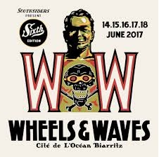 logo Wheels and Waves 2017