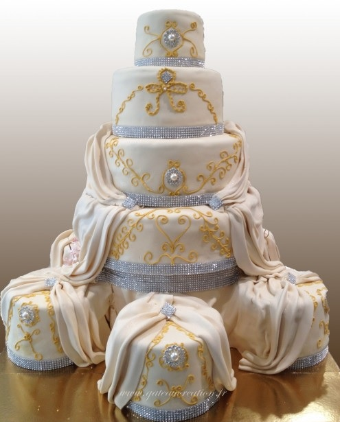 Base Du Wedding Cake