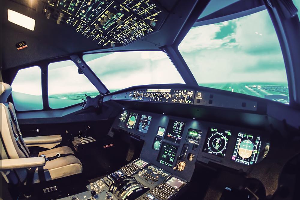 image simulateur A320