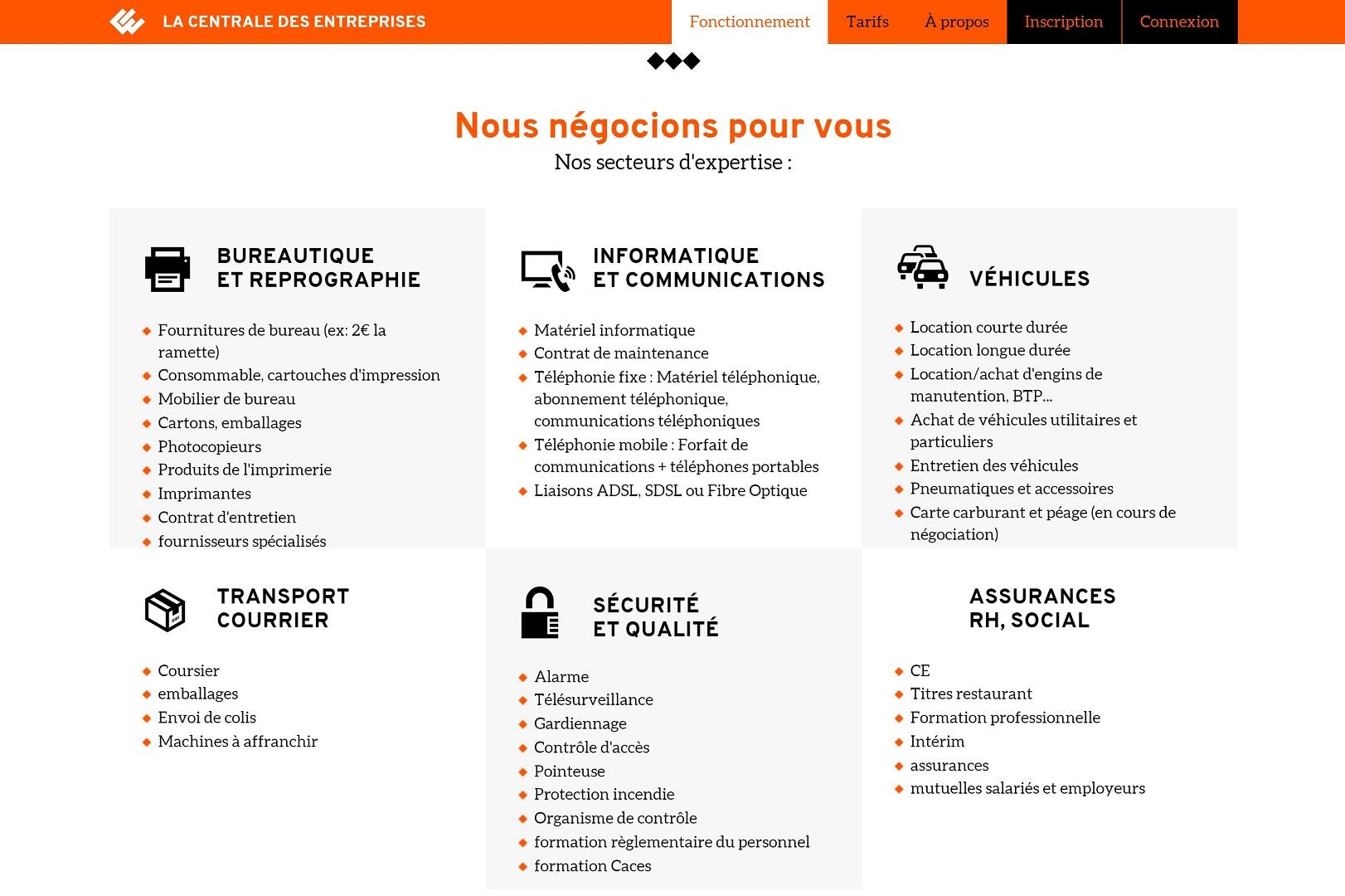image centrale des entreprises