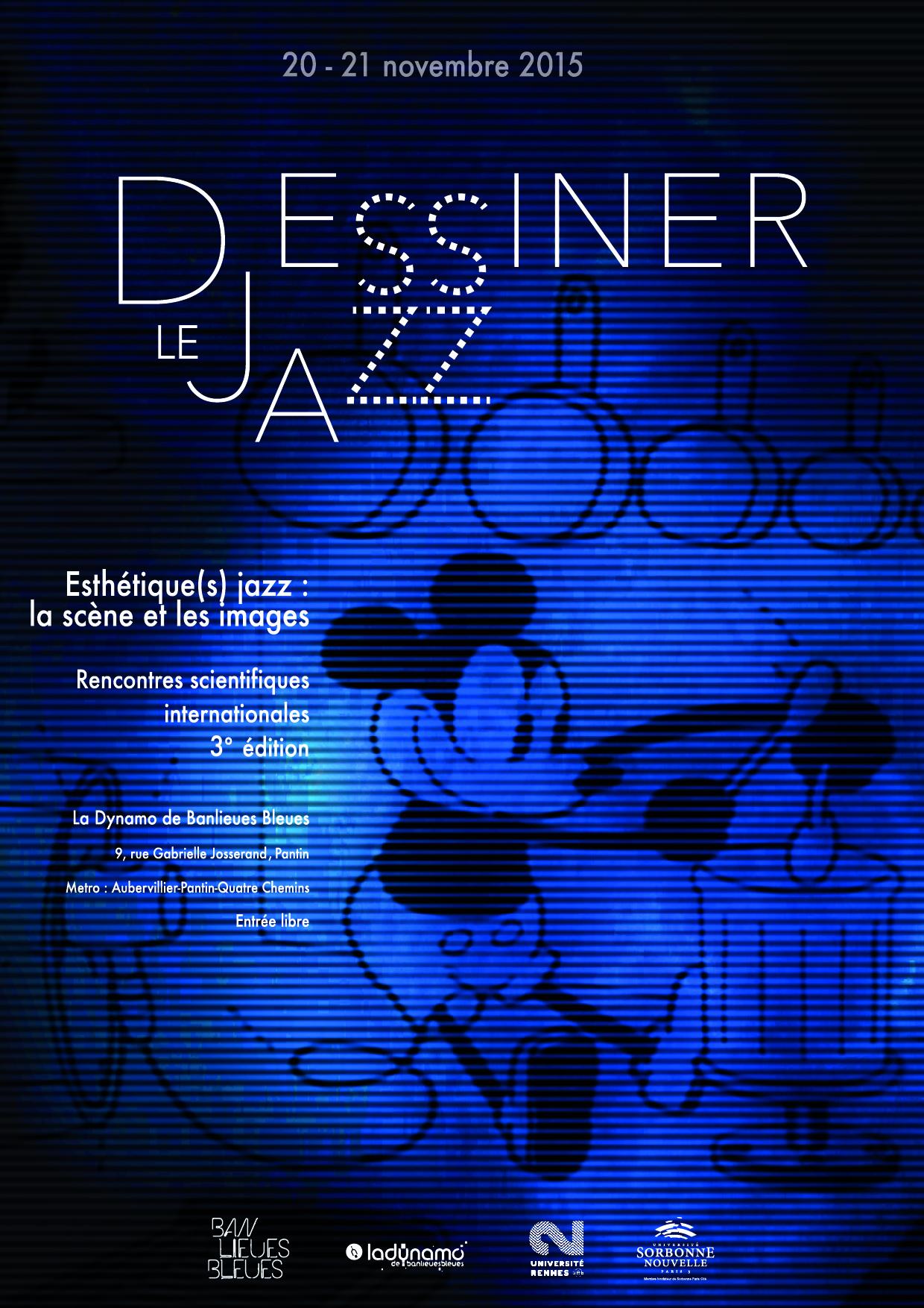 affiche dessiner le jazz