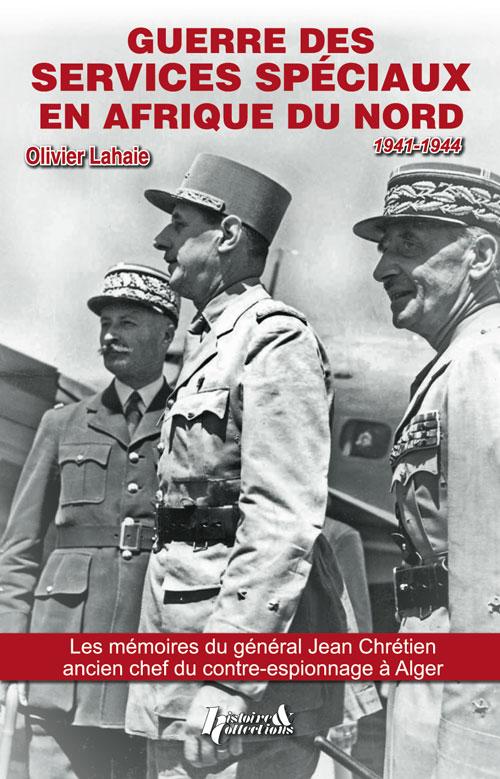 livre Guerre des services spéciaux en Afrique du Nord