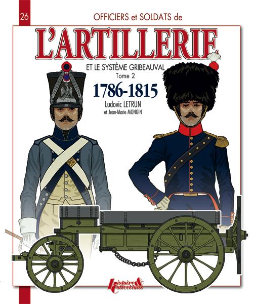 livre L'artillerie et le système Gribeauval