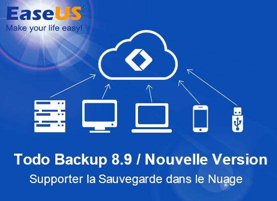 logiciel Todo Backup version 8.9