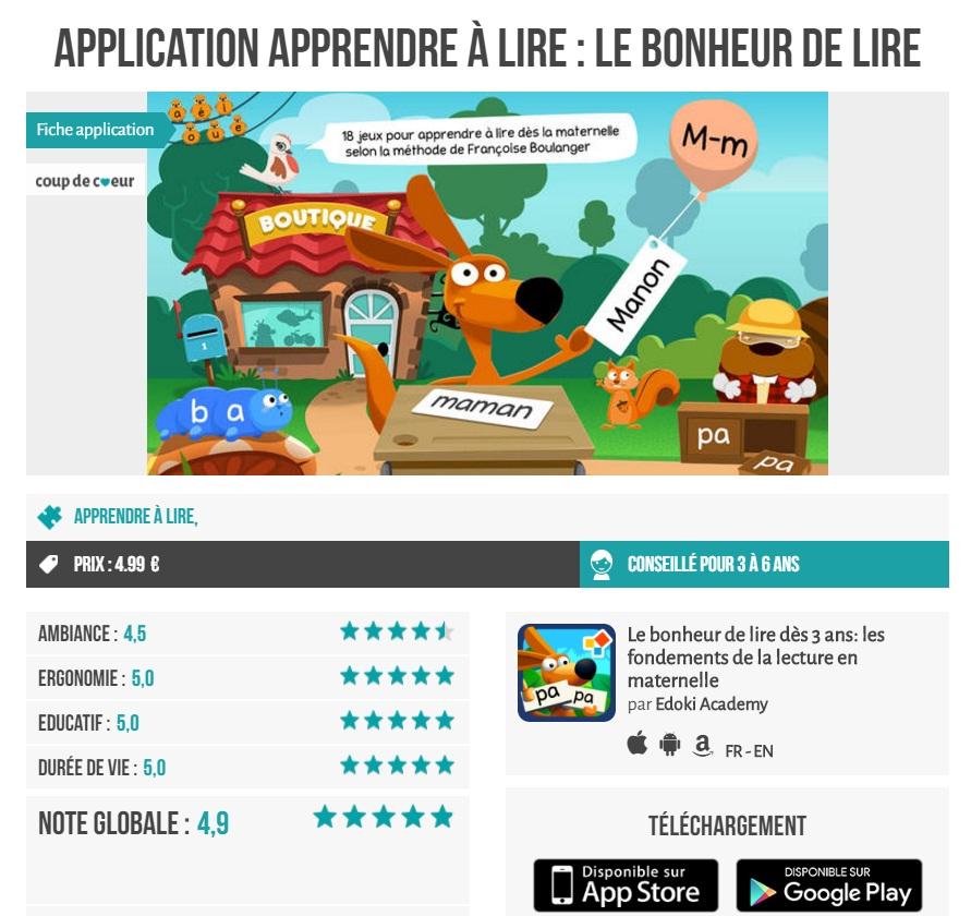 applicationludo educative app-enfance