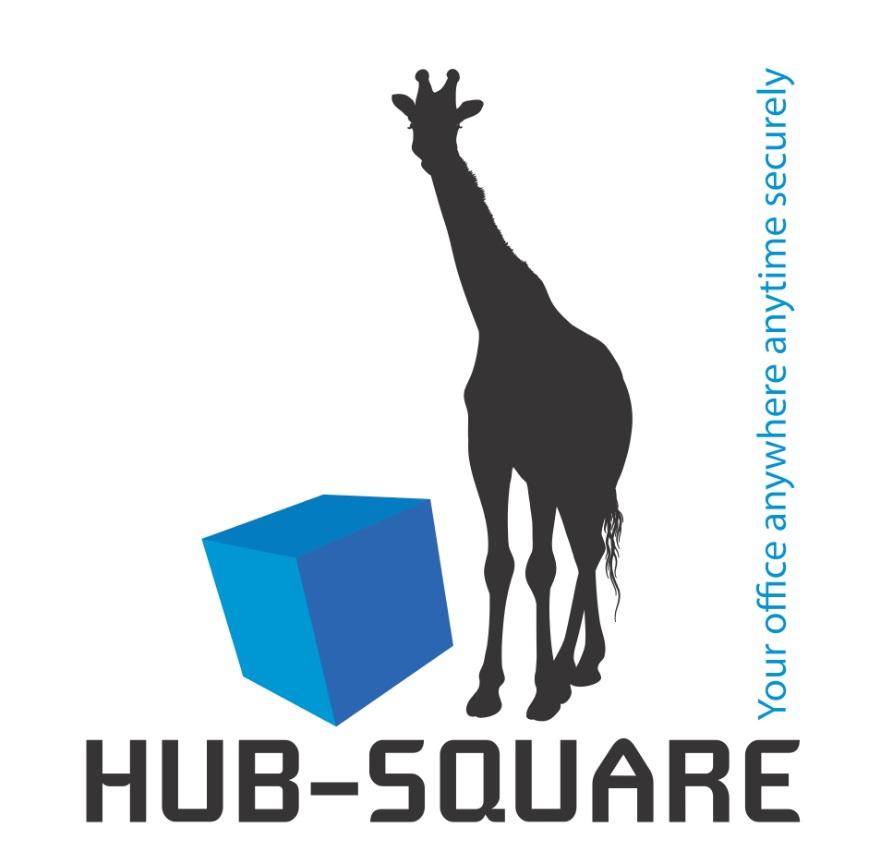 logo hub square