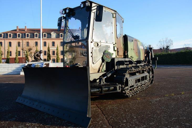 bulldozer aérolargable TNA d'UNAC