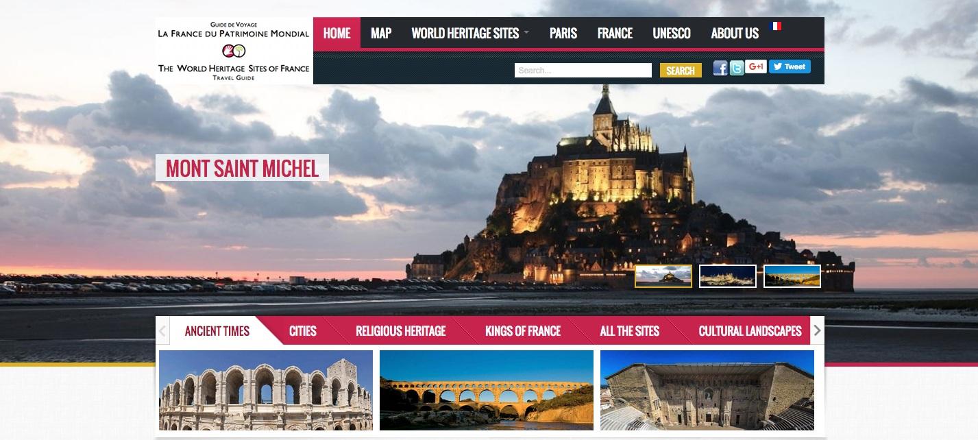 guide numérique la france du patrimoine mondial