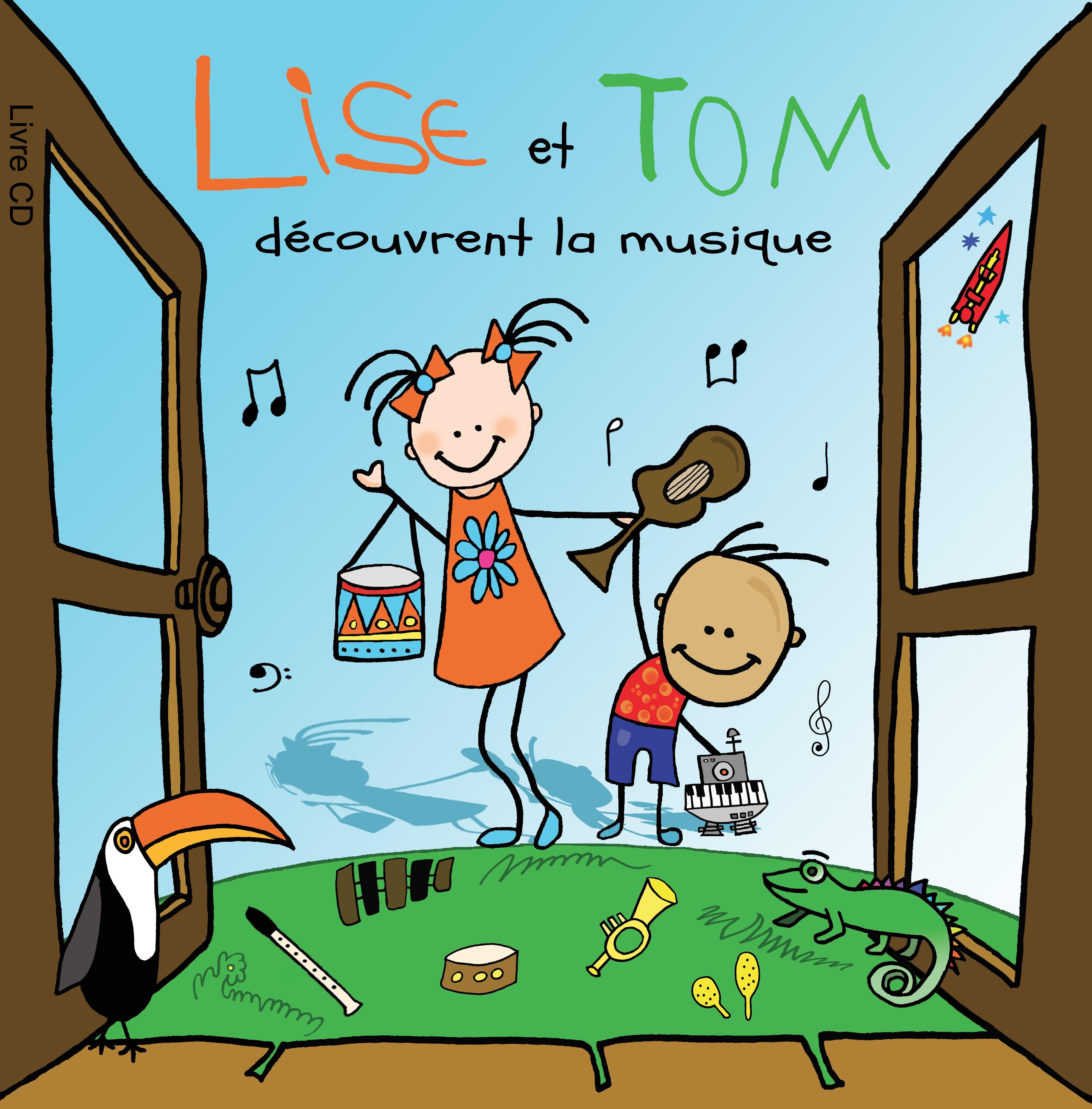 conte musical lise et Tom découvrent la musique