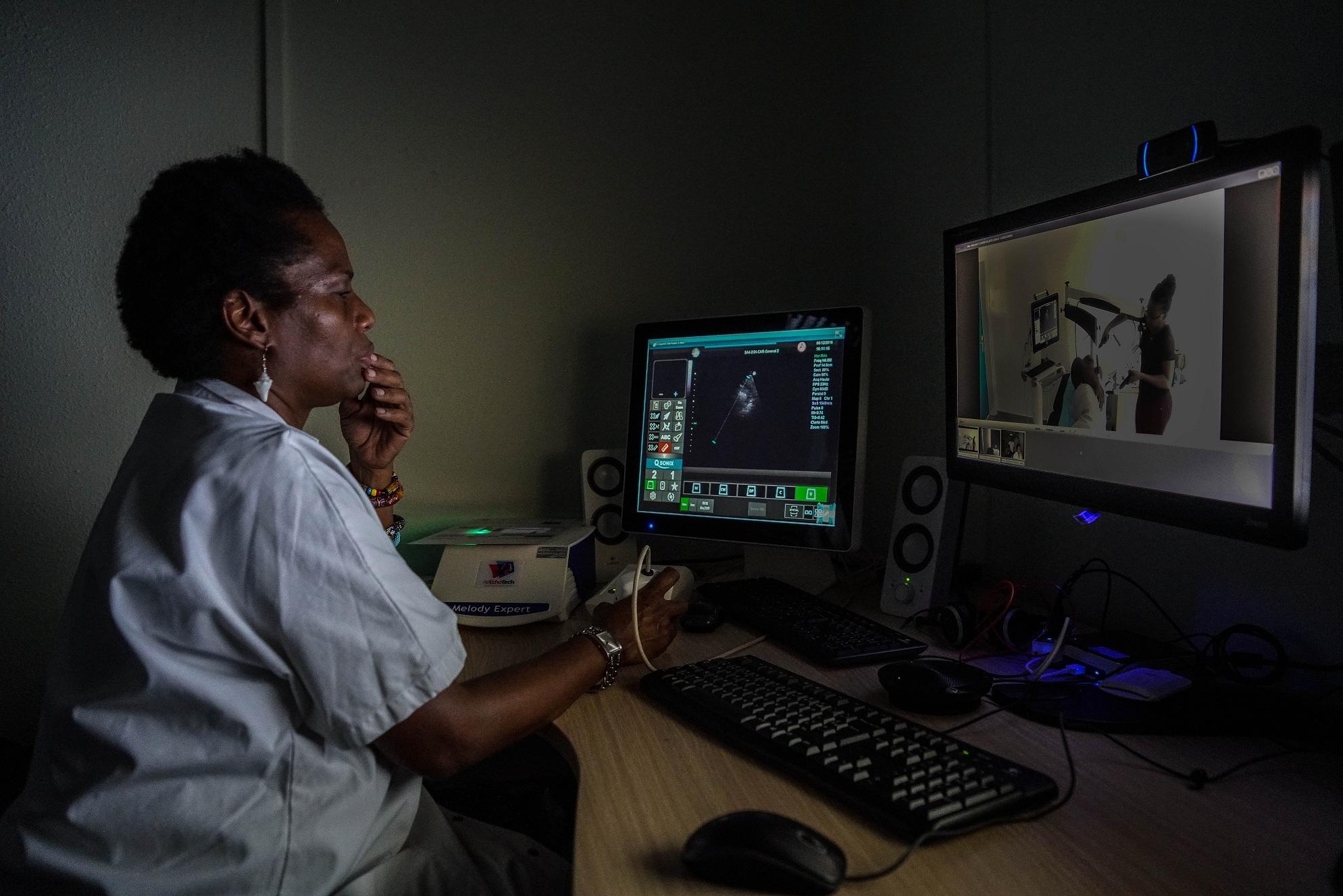 GCS e-Santé Archipel 97-1 Echographie Cardiaque Guadeloupe