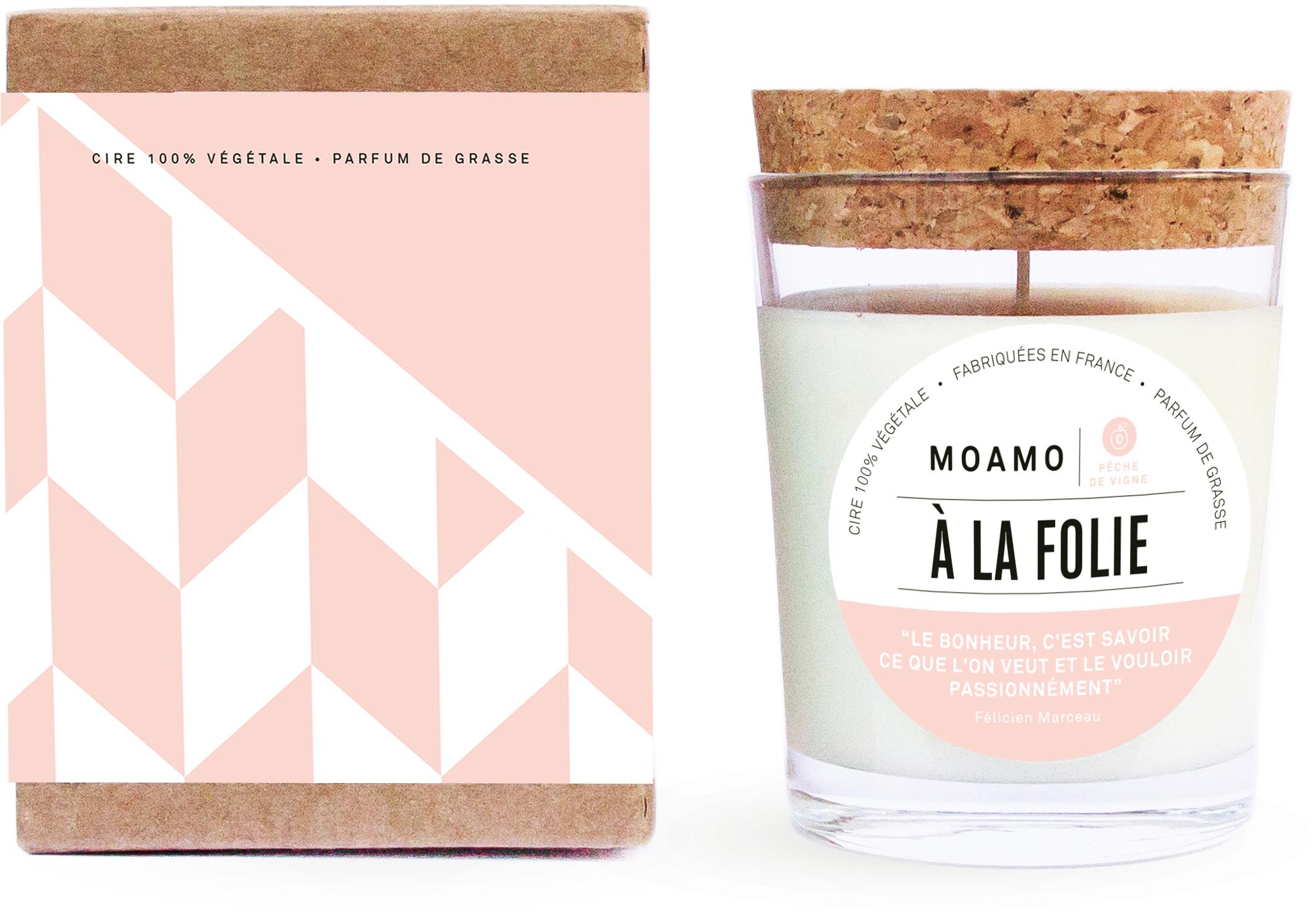 MOAMO bougies parfumées