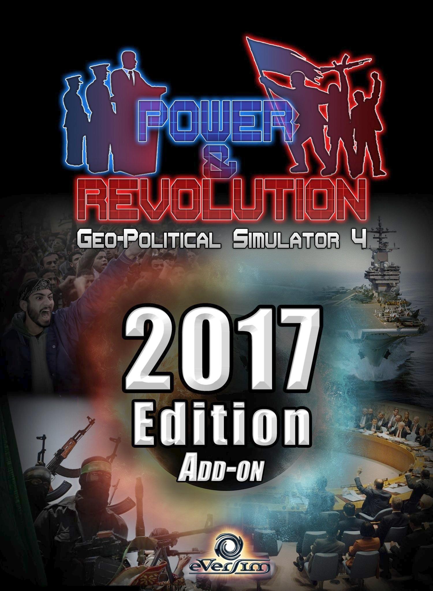 Power & Revolution édition 2017 jeu de simulation géopolitique