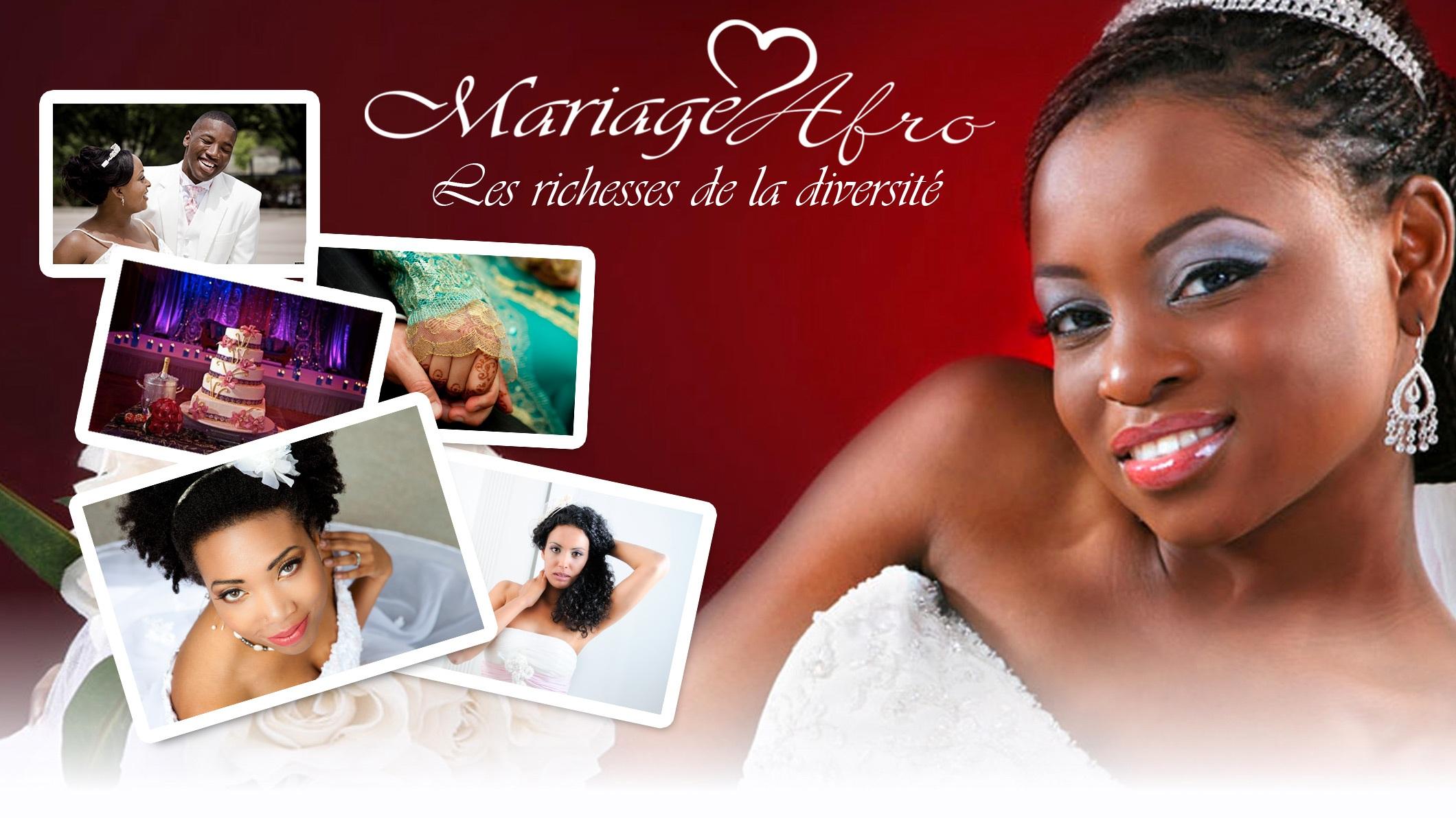 www.mariageafro.fr plateforme française dédiée à l'organisation des mariages Afro