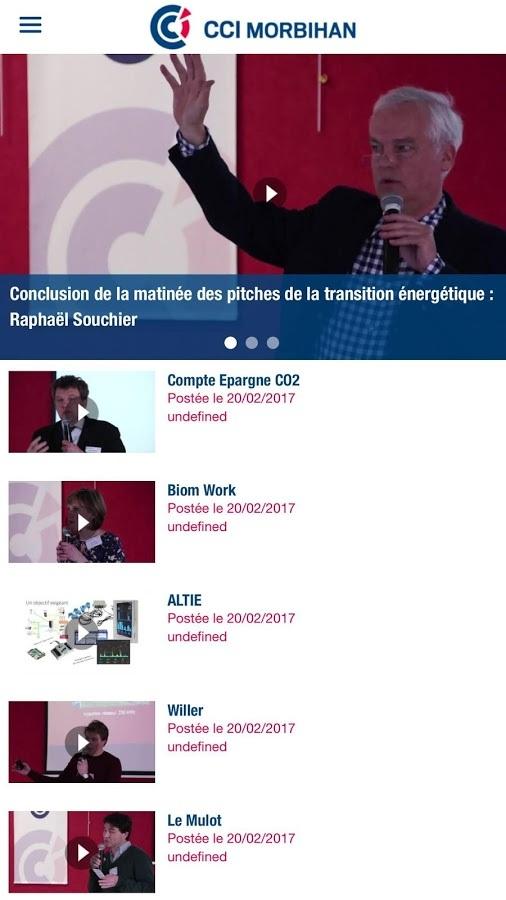 application CCI du Morbihan