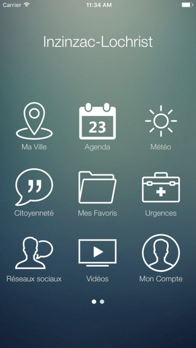Inzinzac-Lochrist application mobile