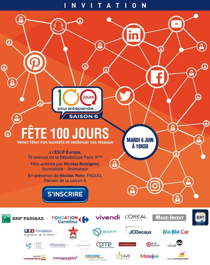 concours 100 jours pour entreprendre