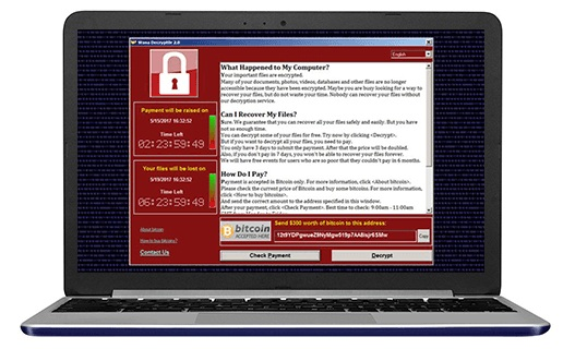 Easus Data Recovery ansomware WannaCry