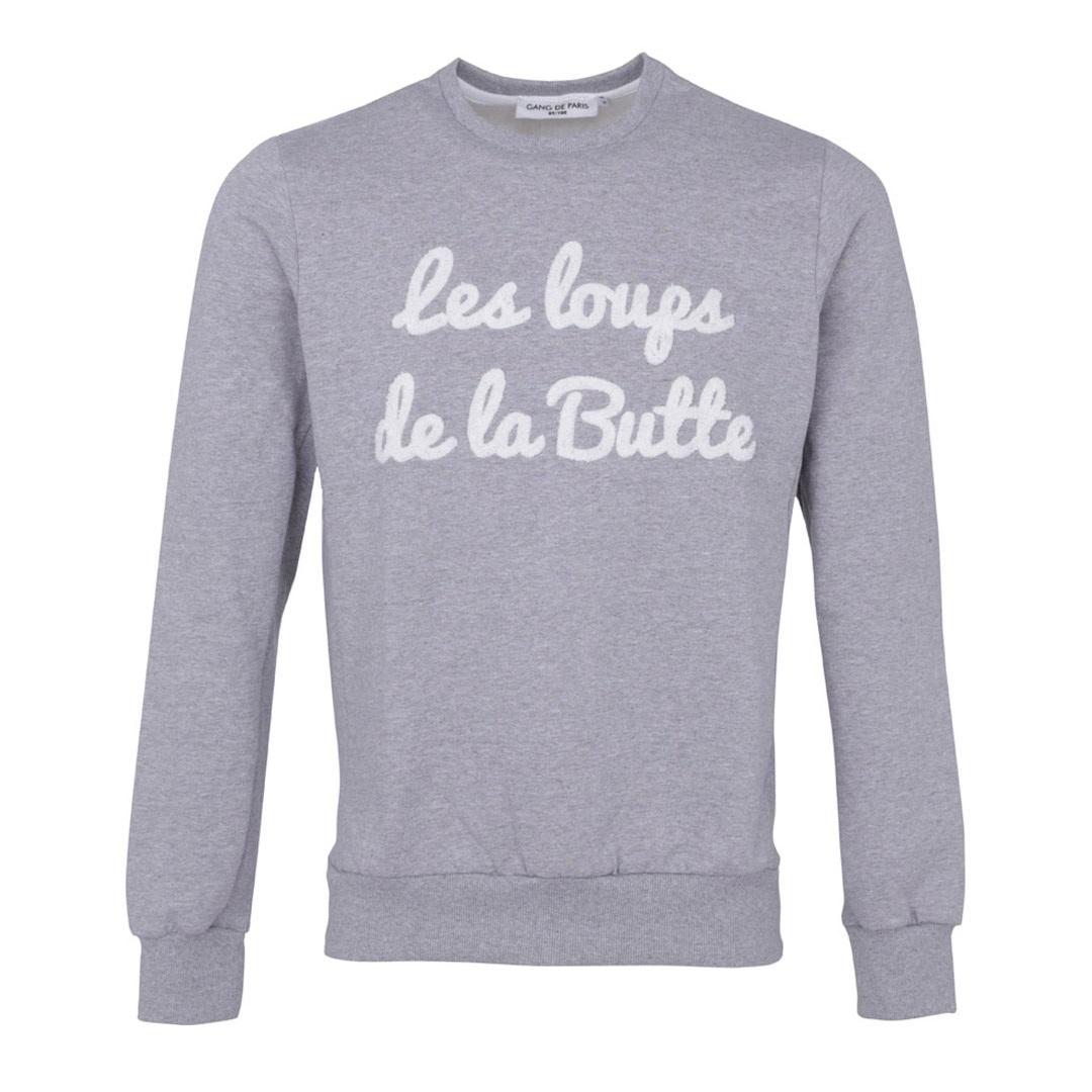 sweet shirt Les Loups de la butte gang de paris