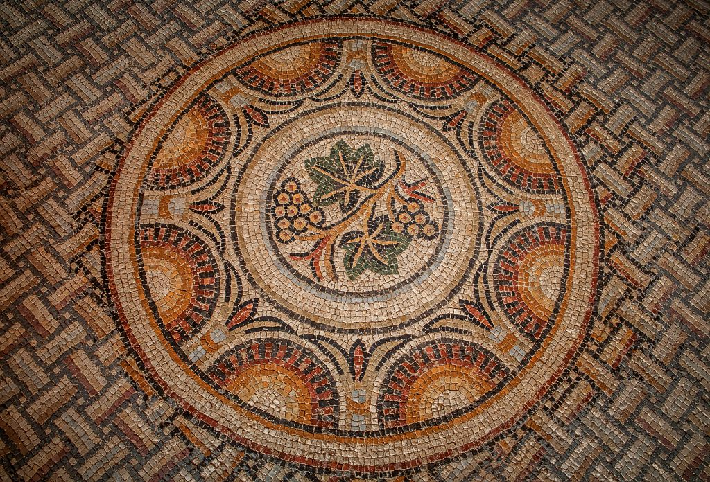 mosaïque gallo-romaine elusa