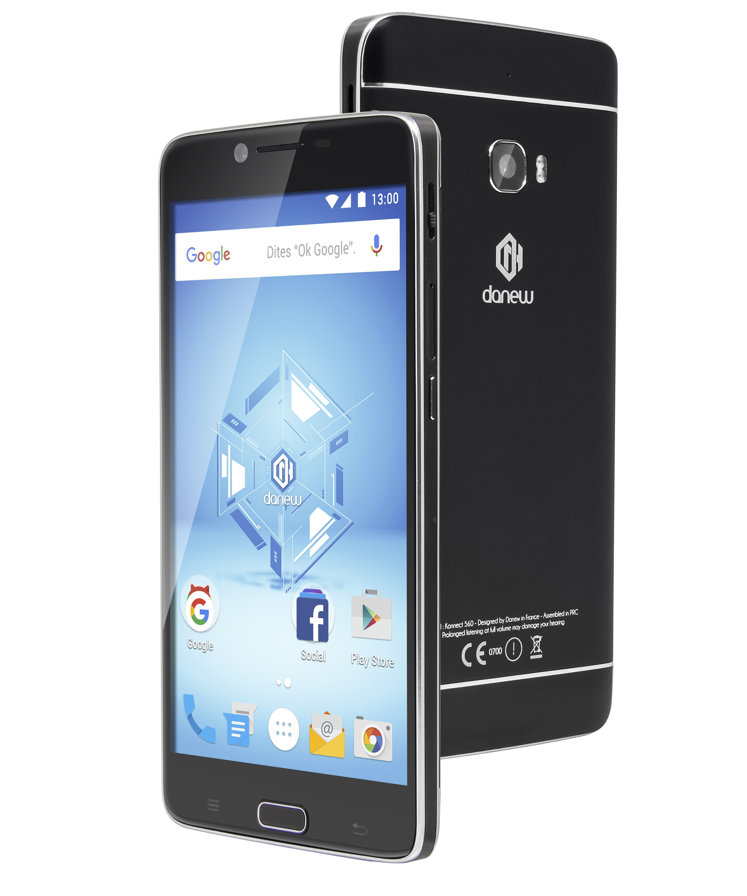 Smartphone danew Konnect 560 Cinepix