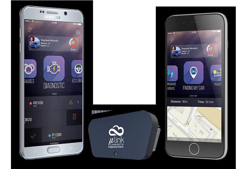 smarto Solution de véhicule connecté MicroLink