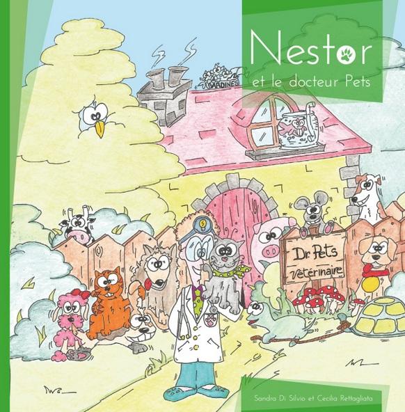 livre enfant Nestor et le docteur Pets