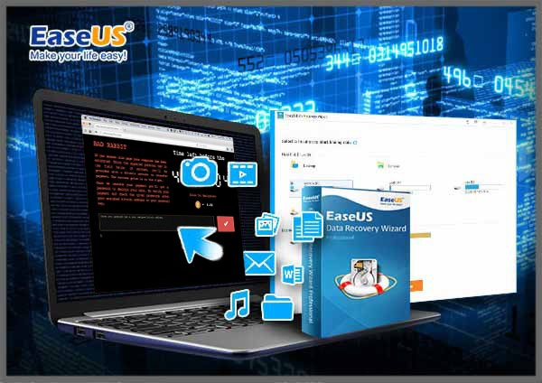 Easeus ransomware Bad Rabbit
