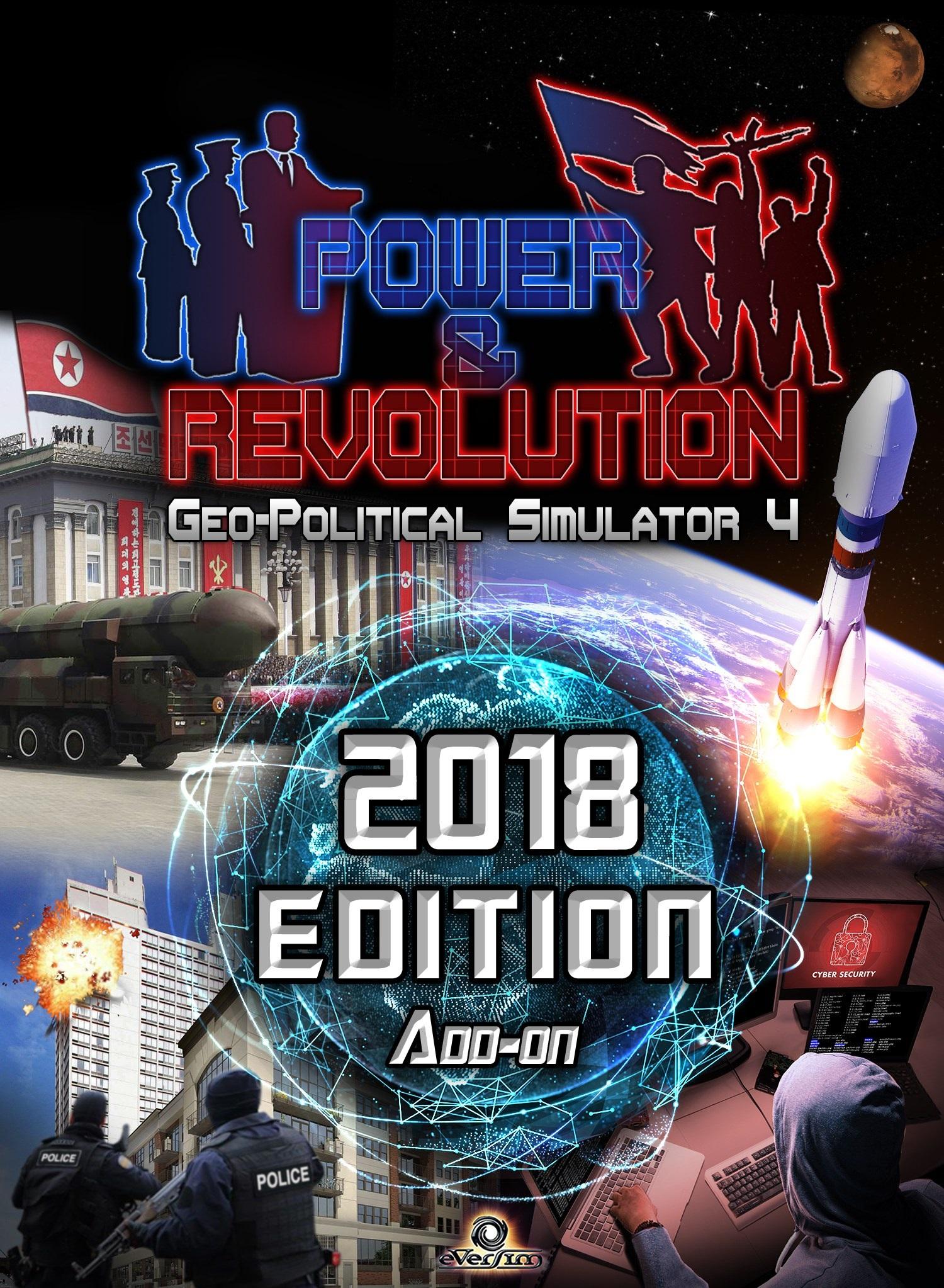 Power & Revolution, Geopolitical Simulator 4 édition 2018