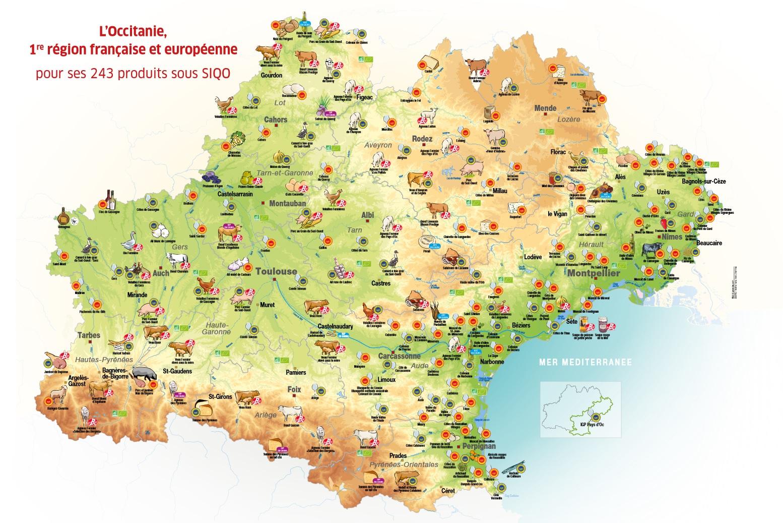 region occitanie Signe d'Identification de la Qualité et de l'Origine irqualim