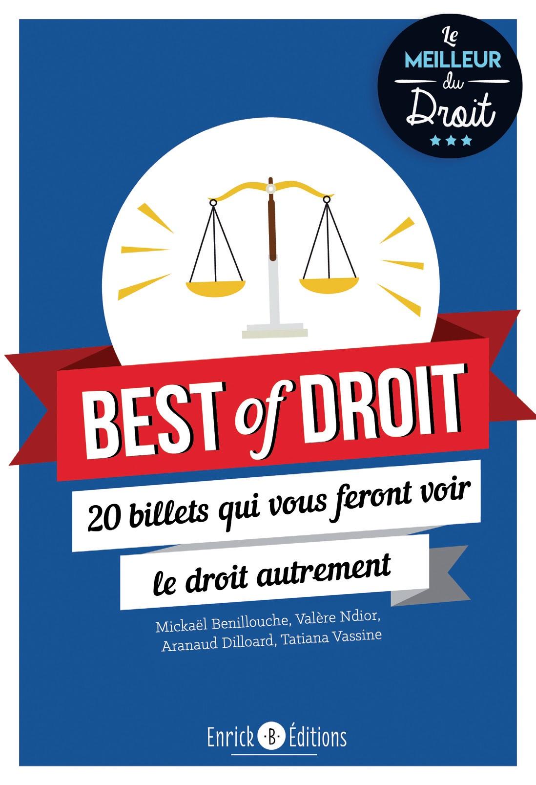 Livre : Best of droit