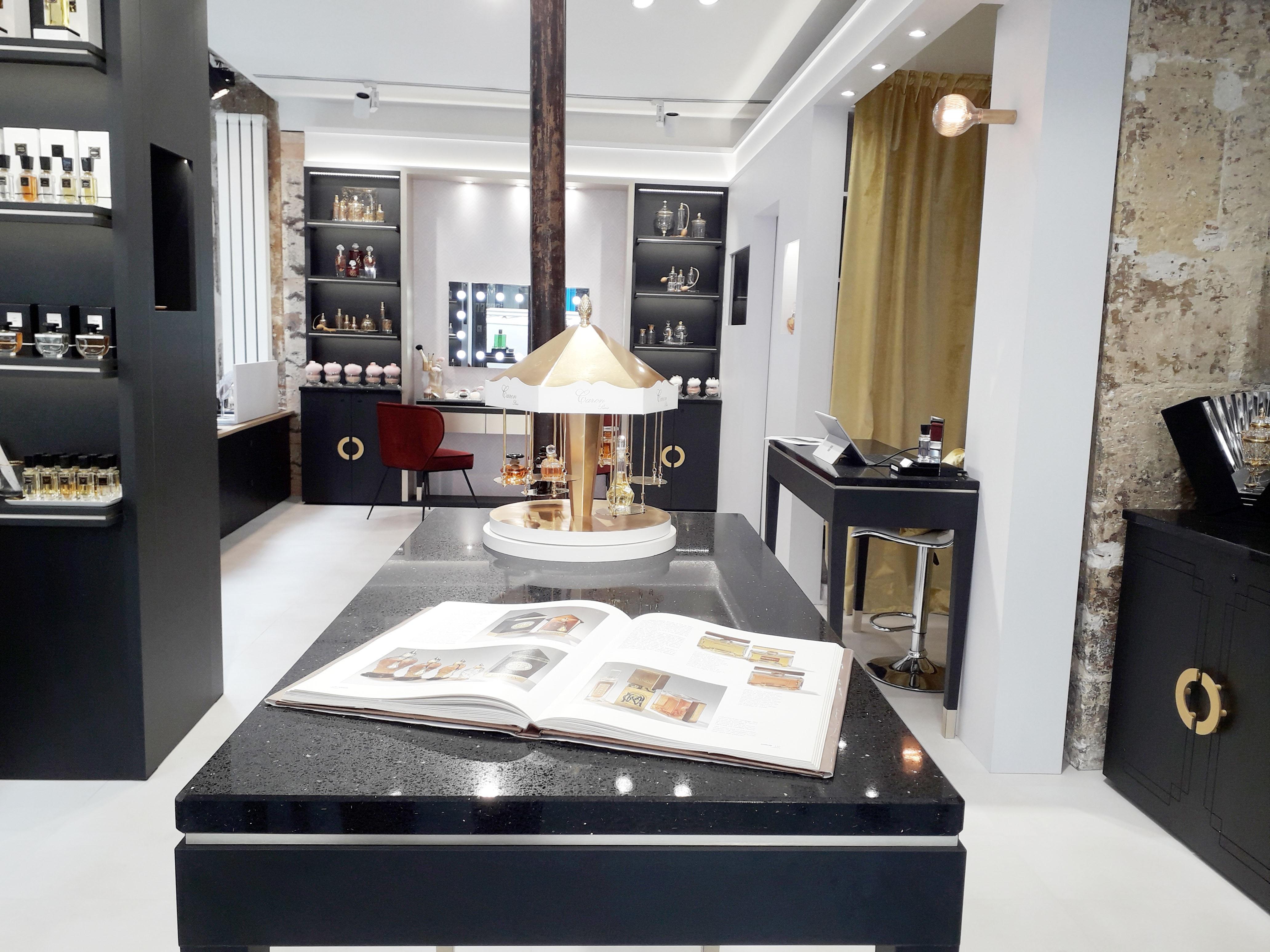 caron paris agence next step design