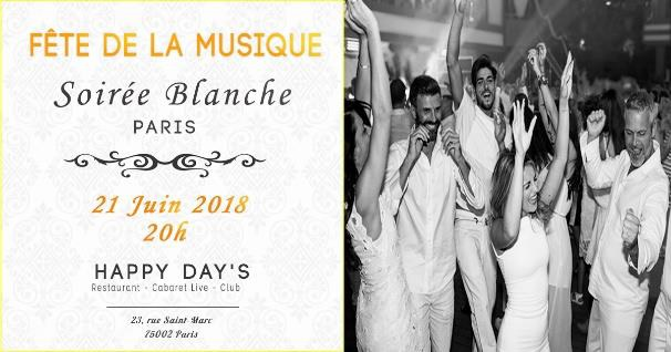fete de la musique Happy Day's Paris