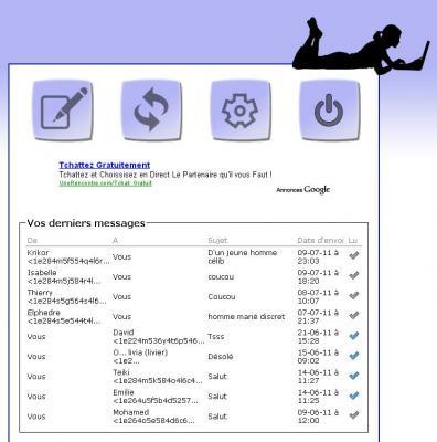 uk cheap sale newest collection recognized brands Communiqué de presse - Mailroulette.org : le chatroulette ...