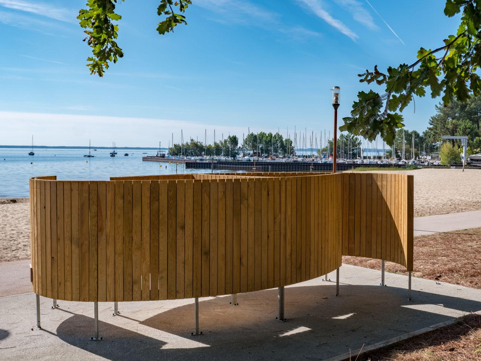 cabine et mobilier de plage