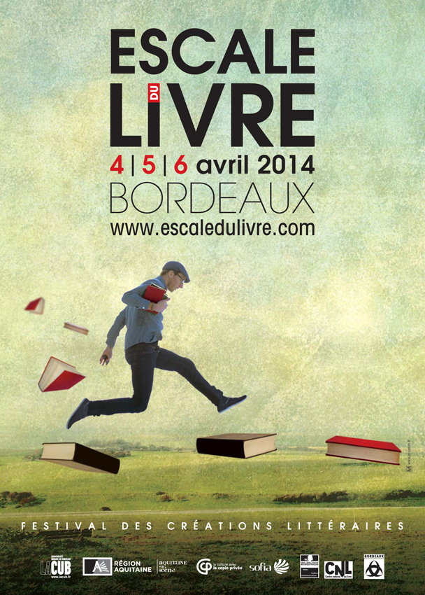 affiche festival du livre 2014