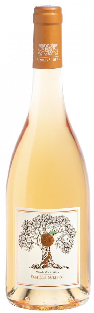 l'orange vin sumeire