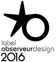label observeur design