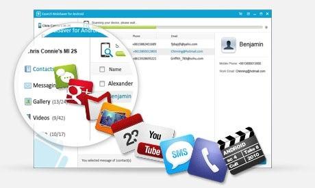logiciel Mobisaver pour Android 4.5