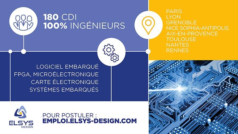 Grenoble et Lyon : Elsys recrute de nombreux ingénieurs ou informaticiens en 2021 Illustrationelsysdesign2021