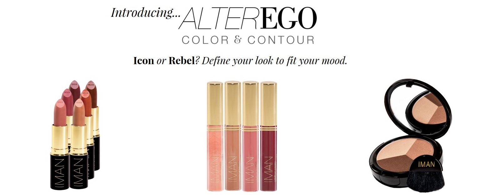 iman cosmetics collection alter ego