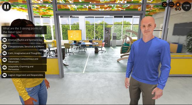 scene in PCM Virtual Learning