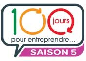 logo 100 jours pour entreprendre