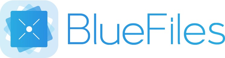 logo bluefiles