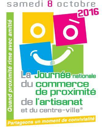 logo Journée nationale du commerce de proximité