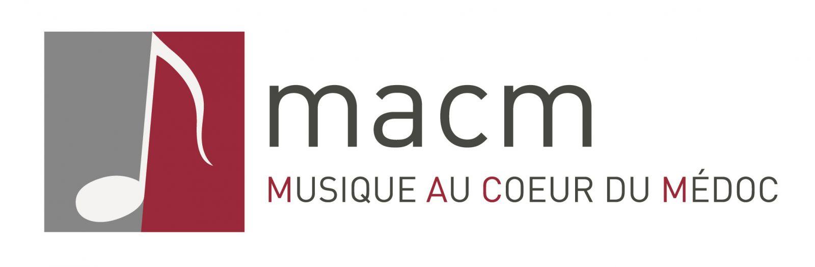logo musique au coeur du médoc