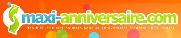 logo maxi anniversaire.com