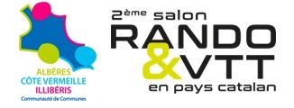 logo salon rando et vtt en mpays catalan