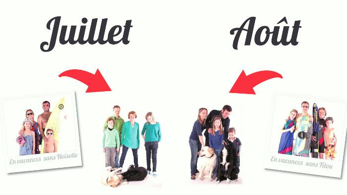 Echange de garde de chien pendant les vacances d'été