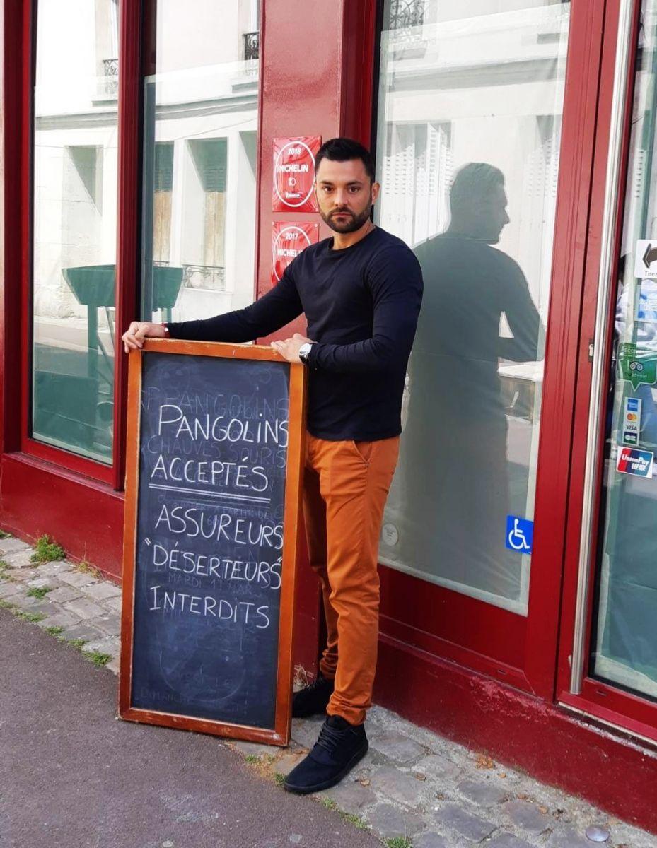 pangolin restaurateur